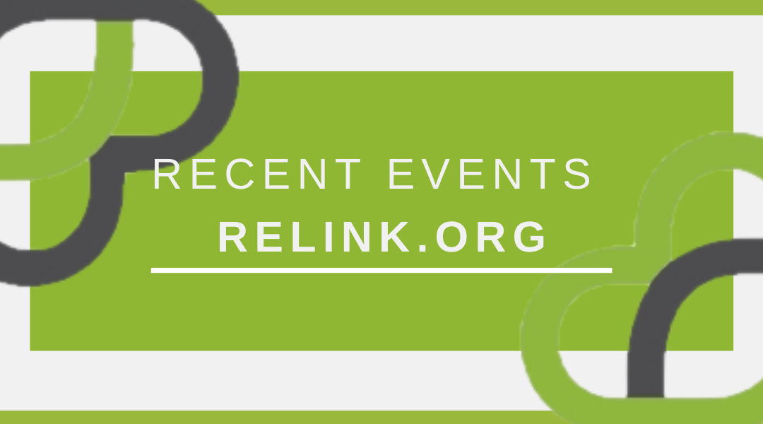 February Kicked off a Year of Events for relink.org