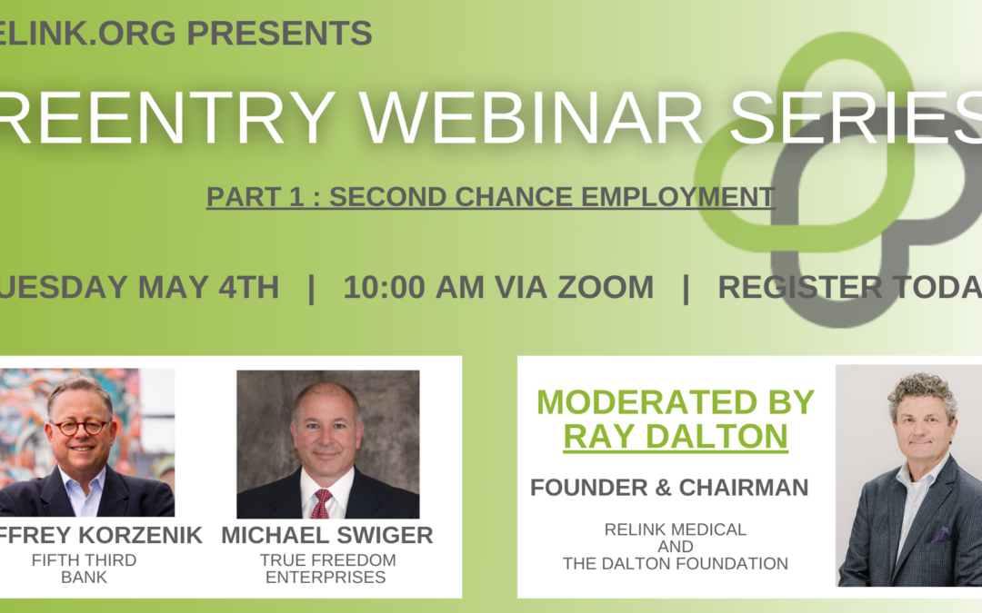Announcing the Reentry Webinar Series